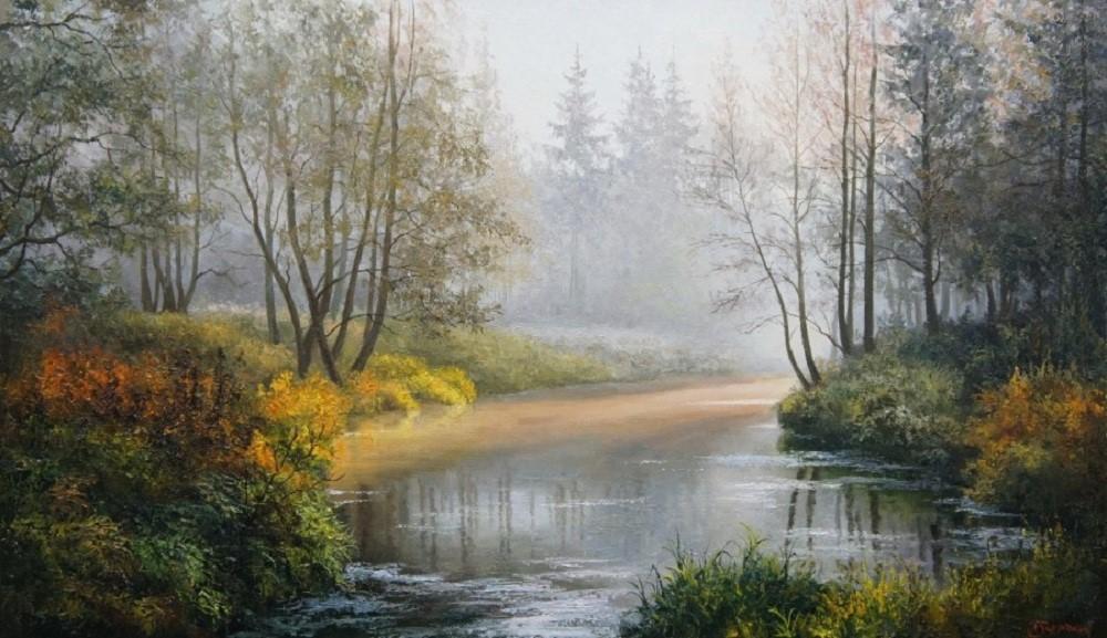 Пейзажи Евгения Бурмакина