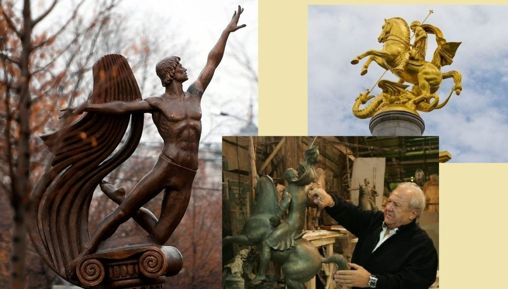 Скульптуры Зураб Церетели
