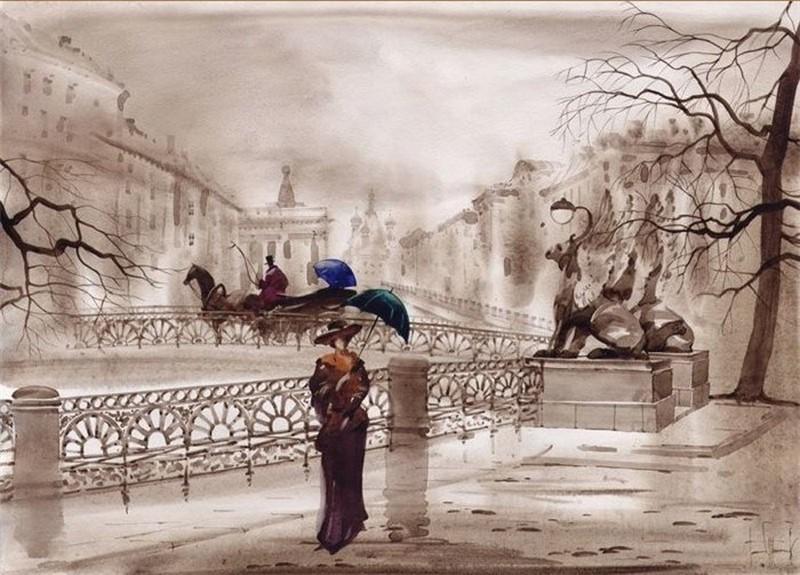 Петербург на картине