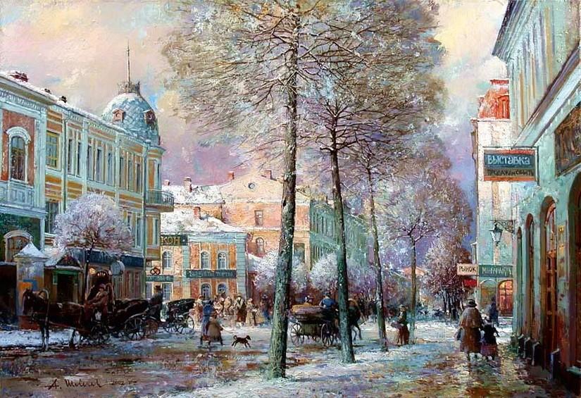 Работы Александра Шевелева