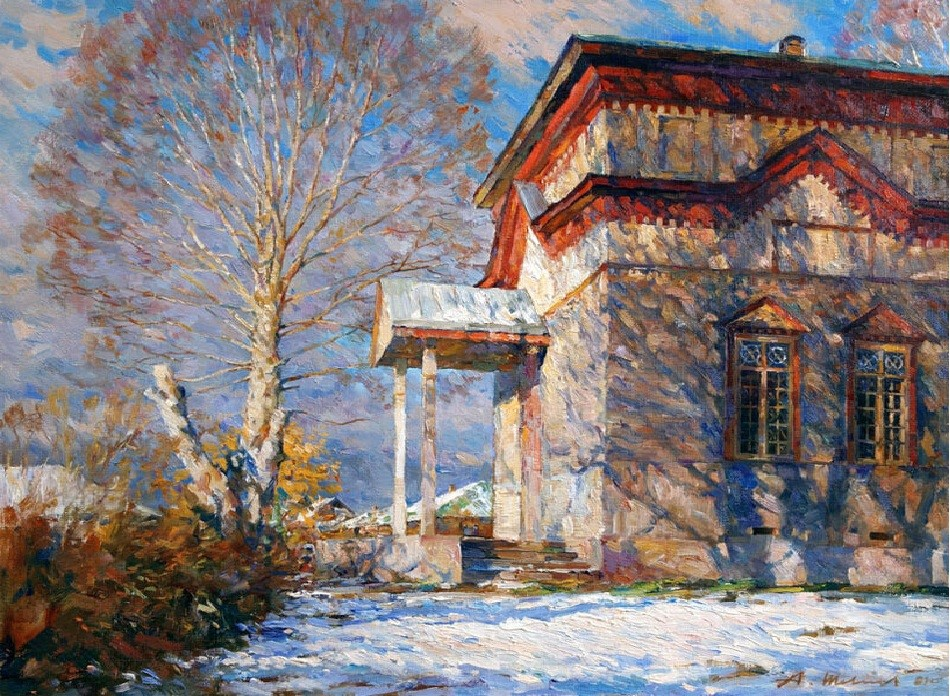Современный художник Александр Шевелев
