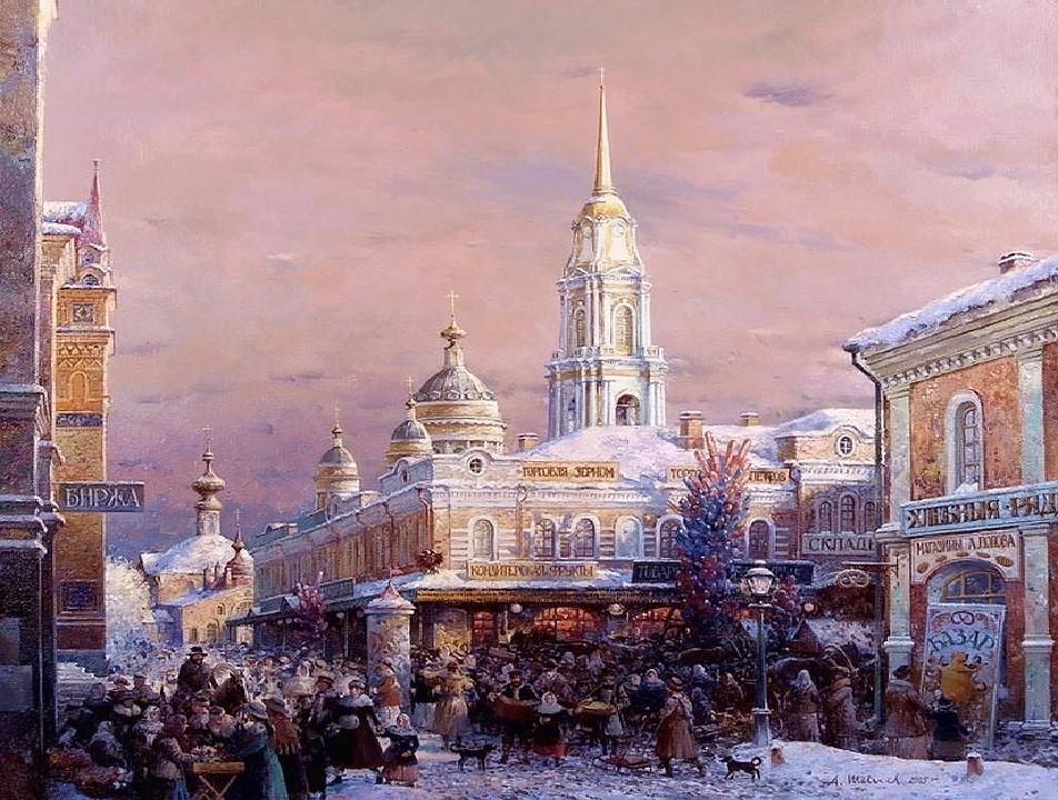 картины маслом Александр Шевелев