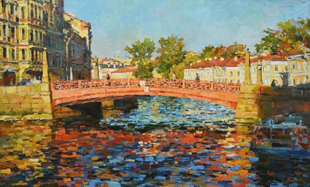 Красный мост, Павел Еськов