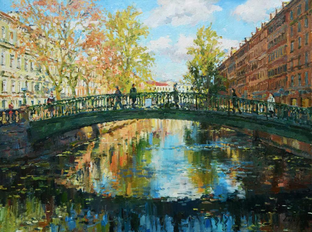 Картина, На сенном мосту