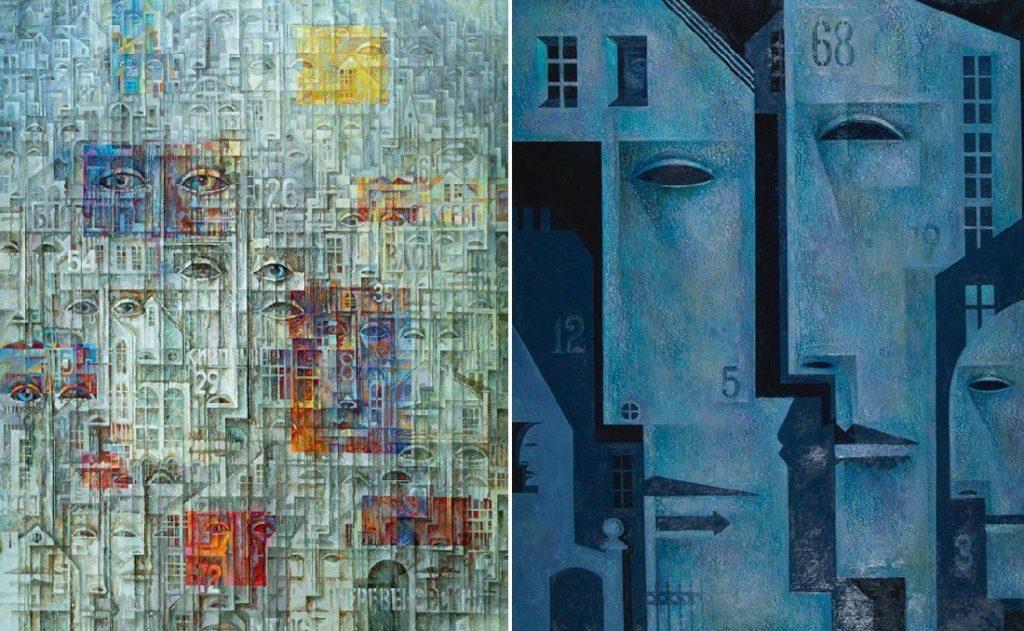 Абстракционизм картины